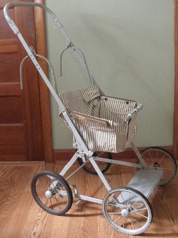items similar to vintage baby stroller combo booster. Black Bedroom Furniture Sets. Home Design Ideas