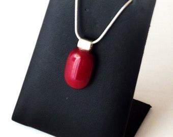Ruby Glass Pendant