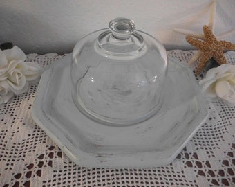 Light Periwinkle Blue Shabby Chic Serving Tray Beach Cottage French Country Farmhouse Home Decor Birthday Gift For Her