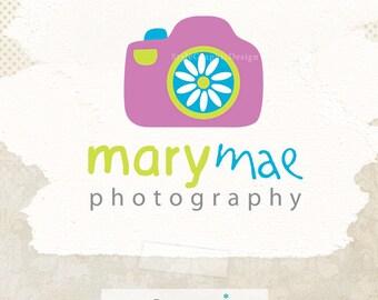 Beautiful photography logo design - camera logo and watermark - photography logo design - wedding photography logo