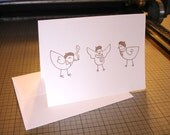 3 French Hens Card (1)