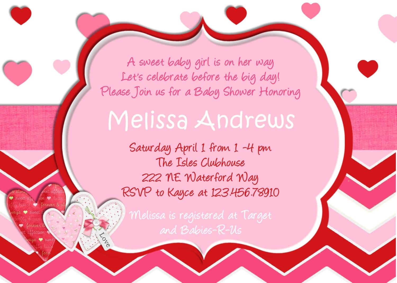 valentines invitation