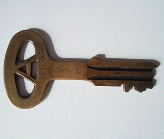 how to clean brass keys