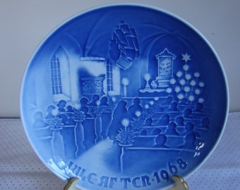 1968 Christmas in Church Plate