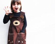 Brown Bear Girls Dress