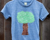 Climbing Tree - Tree on Royal Blue T-Shirt - 3T