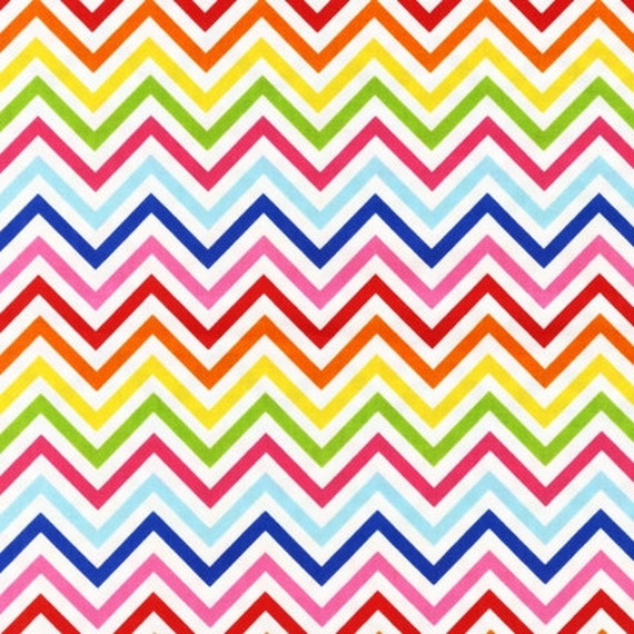 bright skinny chevron from robert kaufman