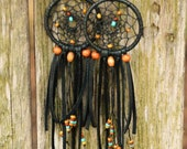 Dreaming Of An Endless Summer// A Pair Of Dreamcatcher Earrings