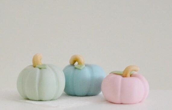 Sweet Petite Pastel Pumpkins