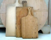 Vintage Cutting Board Germany Handmade Rustic Primitive Country French Decor