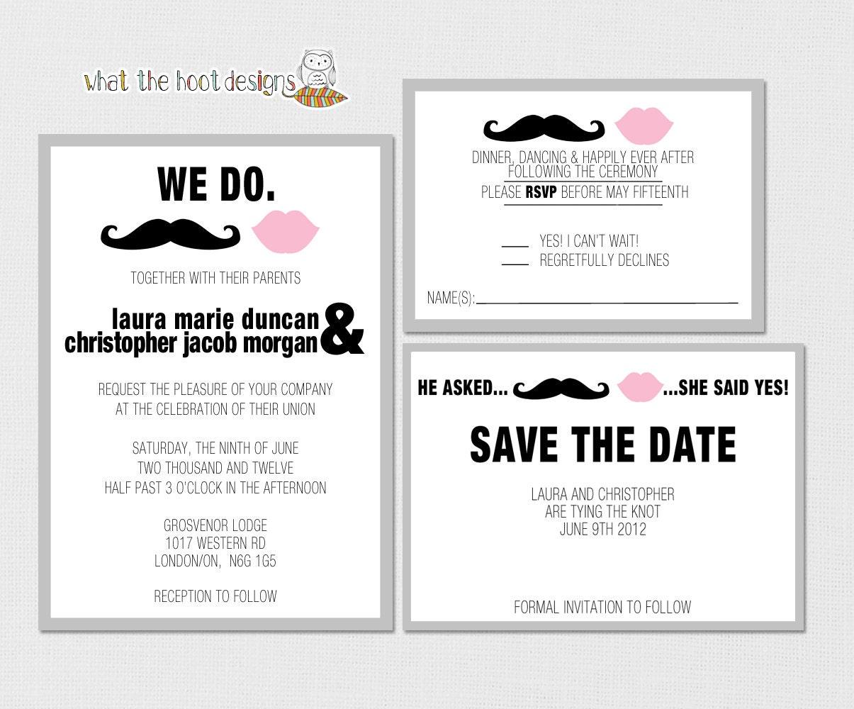 Responding To A Wedding Invitation: Printable/DIY Wedding Invitation Response Card And Save The