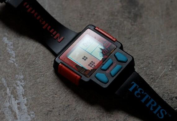 Vintage Tetris Nintendo Game Watch