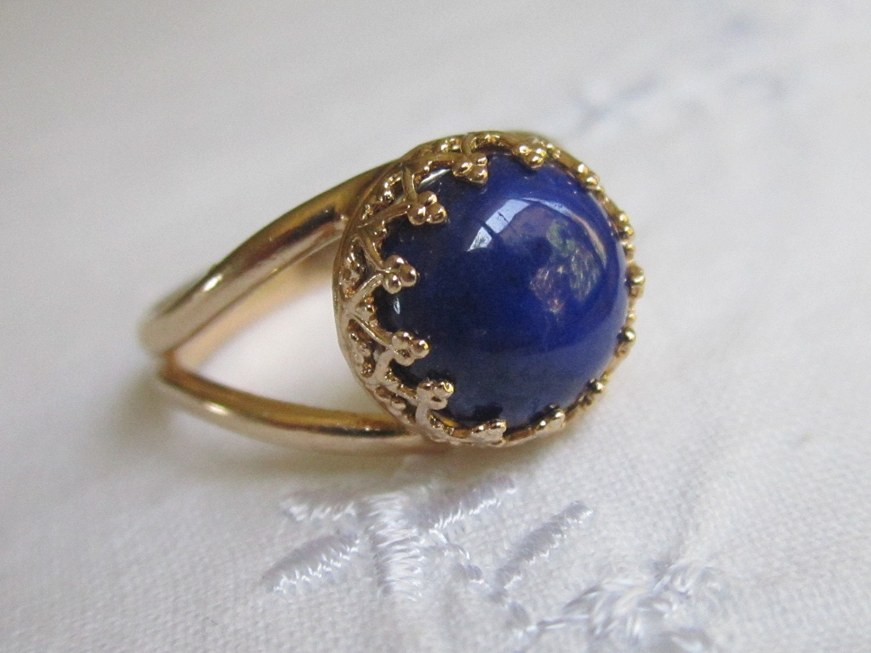 Lapis Lazuli And Gold Ring