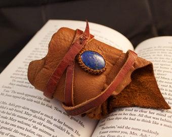 CUSTOM - (you design) Leather Cuff Wrap and Macrame Bracelet