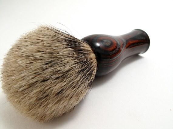 Silver Marks The Spot Silver Tipped Badger Shaving Brush