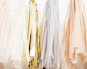 Golden Grey Tassel Garland - StudioMucci
