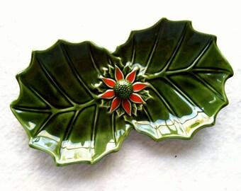 Vintage Ceramic Enesco Candy Dish