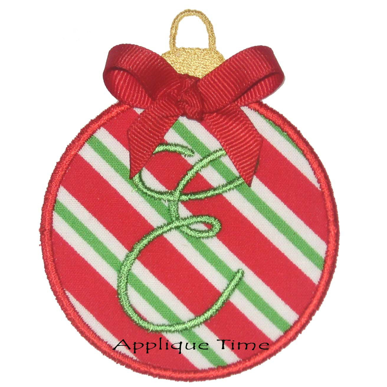 Instant download christmas ornament machine embroidery