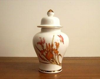 Vintage Ginger Jar, Ivory