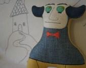 Mr. Peabody- A Proper Plushie