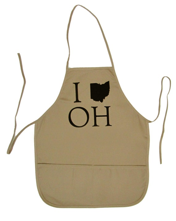 Tan 2-Pocket Apron - I (Ohio) OH