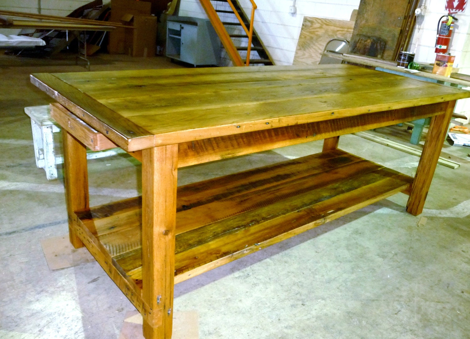 Unavailable listing on etsy for Farm style kitchen table
