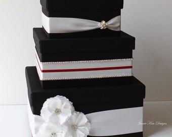 Card box for Wedding, Money Box, Gift Card Holder - Custom Made to Orer