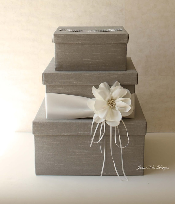 Gift Boxes For Weddings: Wedding Card Box Wedding Money Box Gift Card Box Custom Made