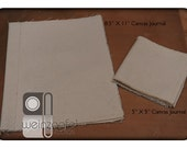 """Blank Canvas Journals (2) - 8.5 X 11 and 5"""" X 5"""""""