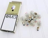 M3 flashbulbs, flash bulbs, clear bulbs,