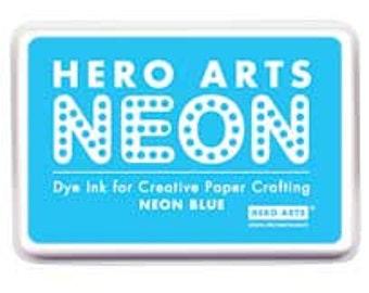 SALE Hero Arts Neon Blue Ink Pad AF231