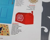 HGTV FEATURE - Mailbox numbers with border - Vinyl Wall Art