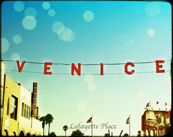 Venice Beach Sign, Venice Beach Photography, California Art, Venice Beach Sign Wall Art, Venice Beach Decor