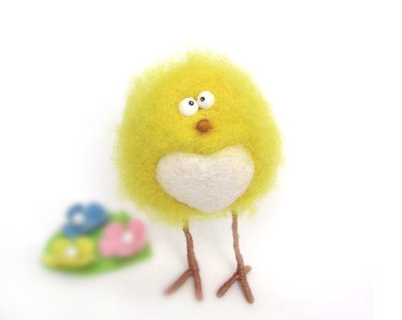 Felt doll - Handmade toys - Needle felting - Miniature - Felt toys - Figurines - Eco friendly - Personalised gifts - Gifts for her - for men