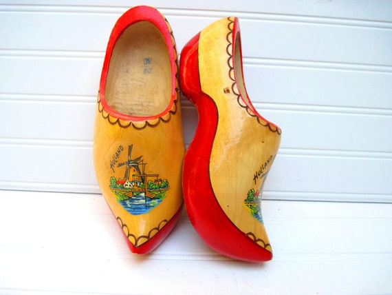Dutch clogs,souvenir clogs, dress up shoes, childs shoes, clogs wearable clogs