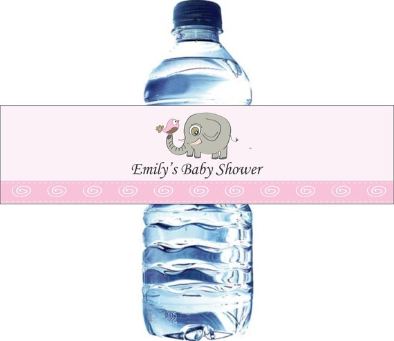 30 Personalized Water Bottle Labels Baby Shower By LabelsRus