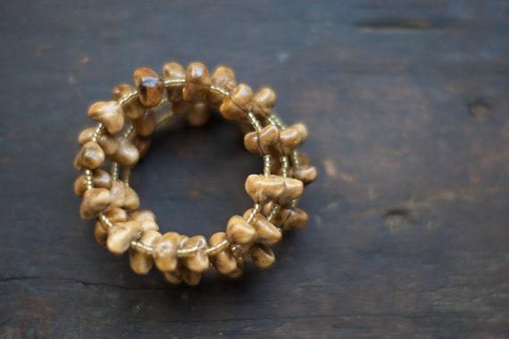 The Good Seeds Wrap Bracelet - Seed Pod Bracelet to Benefit Adoption
