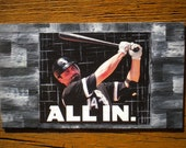 Chicago White Sox - Oil Handpainted Magnet ACEO (Free US Shipping)