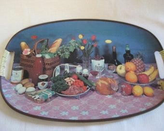 Vintage SIXTIES Kitsch Tray