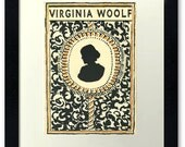 Virginia Woolf Fine Art Limited Edition Print 7 x 5 inches