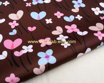 "3053B  - 1 yard  Vinyl Waterproof Fabric - ballon (brown)  - 57""x36"""