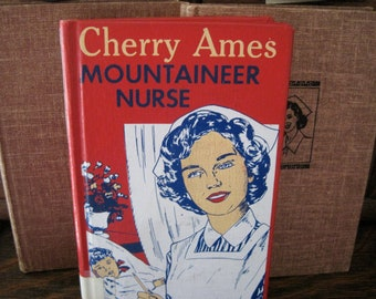 Vintage Cherry Ames Books, Set of 3