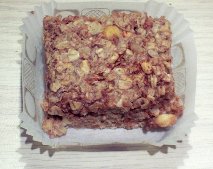 30 Why Weight? Weight Loss Bars APPLE NUT BARS with Acai Berries, Garcinia Cambogia Fruit Pulp