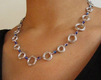 Moebius Chainmaille Necklace