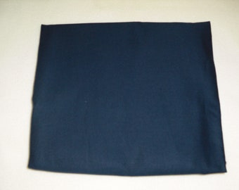 Navy Blue Solid Color  Baby Toddler Bed Fitted Sheet