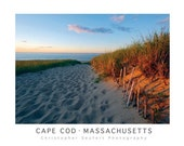 Iconic Cape Cod Photographic Poster Print Signed by Christopher Seufert