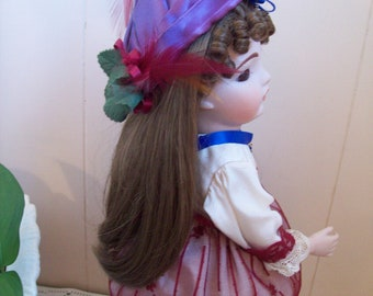"Bru Reproduction Doll Exquisite 12"" Bisque"
