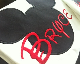 Personalized shirt for Kids. MiCKEY Mouse Shirt