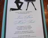 Breakfast at Tiffany's Engagement Party Invitation