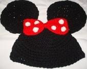Minnnie Mouse Hat